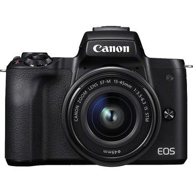 Canon EOS M50 + EF-M 15-45mm IS STM MILC 24,1 MP CMOS 6000 x 4000 Pixel Nero