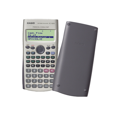 Casio FC-100V calcolatrice finanziaria Grigio