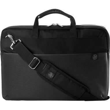 """HP 15.6 Pavilion Accent borsa per notebook 39,6 cm (15.6"""") Valigetta ventiquattrore Nero, Argento"""