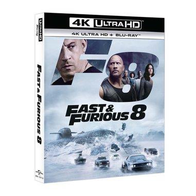 Fast & Furious 8 (Blu-Ray 4K Ultra HD + Blu-Ray)