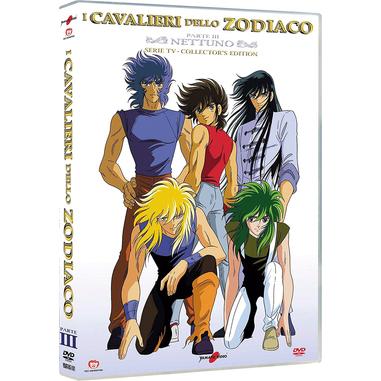 I Cavalieri Dello Zodiaco - Parte 03 - Nettuno (DVD)