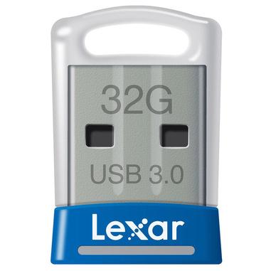 Lexar JumpDrive S45 32GB unità flash USB USB tipo A 3.2 Gen 1 (3.1 Gen 1) Blu, Argento