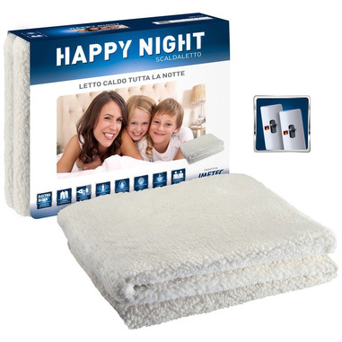 Imetec Scaldaletto Happy Night Matrimoniale