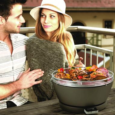 Schickling Barbecue portatile Vesuvio - Colore antrace