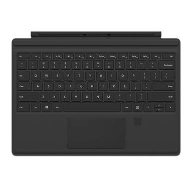 Microsoft Surface Pro 4 Type Cover QWERTY Nero tastiera per dispositivo mobile