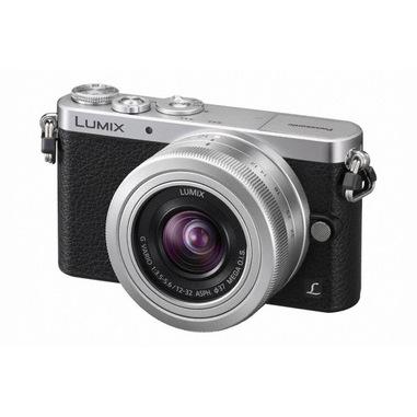 Panasonic Lumix DMC-GM1 + G VARIO 12-32mm MILC 16MP Live MOS 4592 x 3448Pixel Nero, Argento