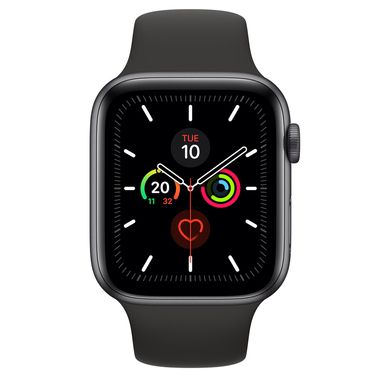 Apple Watch Series 5 44mm smartwatch Grigio OLED GPS (satellitare)