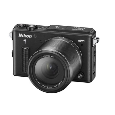 Nikon 1 AW1 + NIKKOR 10mm + NIKKOR 11mm-27.5mm MILC 14.2MP CMOS 4608 x 3072Pixel Nero