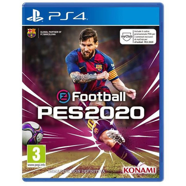 Digital Bros eFootball PES 2020, PS4 Basic PlayStation 4