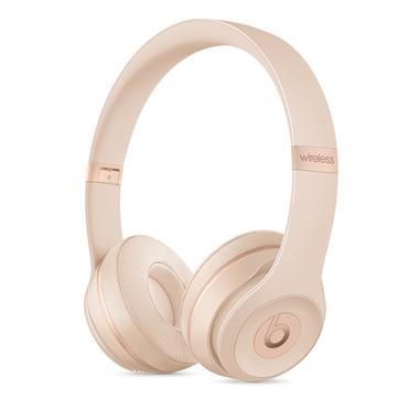 Beats Beats Solo3 Padiglione auricolare Stereofonico Con cavo e senza cavo Oro