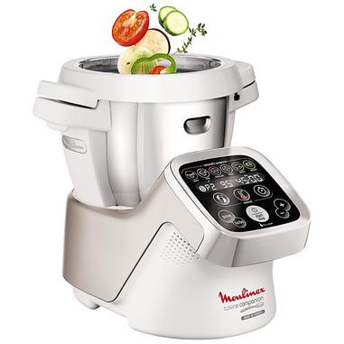 Moulinex HF800 Cuisine Companion Robot da Cucina Multifunzione con 6 ...