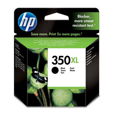 HP Cartuccia originale inchiostro nero ad alta capacità 350XL