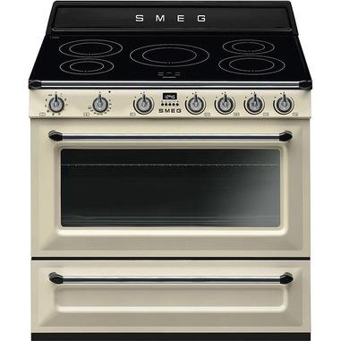 Smeg TR90IP9 cucina Piano cottura Piano cottura a induzione Crema A