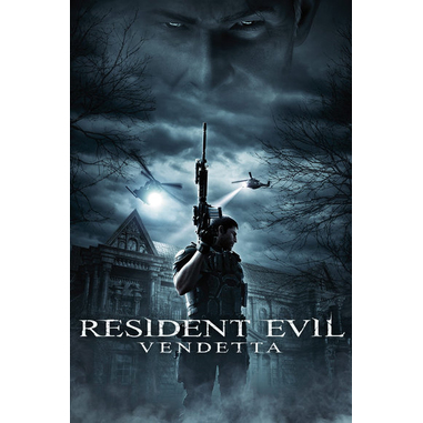 Resident Evil Vendetta, DVD ITA