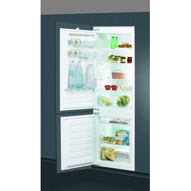 Indesit B 18 A1 D V E S/I incasso 195L 80L A+ frigorifero con congelatore