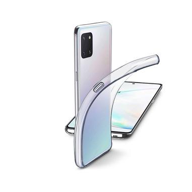 Cellularline Fine - Galaxy Note 10 Lite Cover in gomma morbida ultra sottile e trasparente