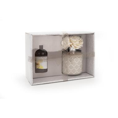 Joia Home Diffusore di essenza color beige con fragranza vaniglia-orchidea