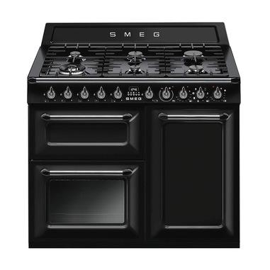 Smeg TR103BL cucina Piano cottura Gas Nero A