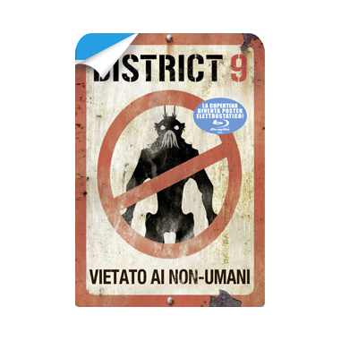 DISTRICT 9 - Vietato ai non-umani (Blu-Ray)