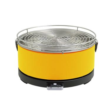 Feuerdesign MAYON Grill Da tavolo Antracite Giallo