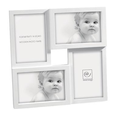 Mascagni A141 Bianco Cornice per foto multipla