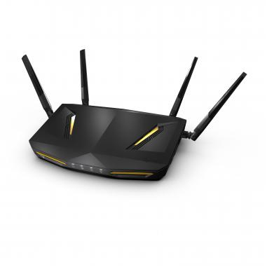 Zyxel ARMOR Z2 NBG6817 router wireless Dual-band (2.4 GHz/5 GHz) Gigabit Ethernet Nero