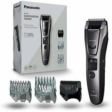 Panasonic ER-GB80-H503 regolabarba Bagnato e secco Nero
