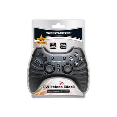 Thrustmaster T-Wireless Black Nero USB 2.0 Gamepad PC, Playstation 3