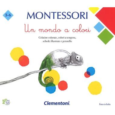 Clementoni Montessori Un mondo a colori