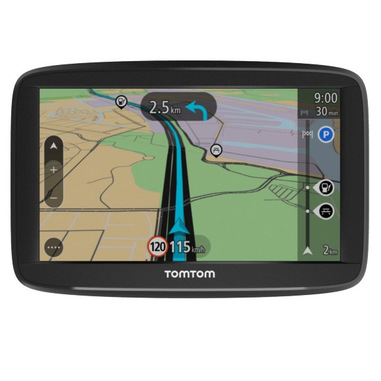 "TomTom Start 52 EU45 navigatore 12,7 cm (5"") Touch screen Palmare/Fisso Nero 235 g"