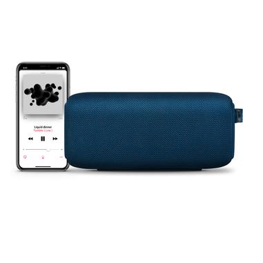 Fresh 'n Rebel Rockbox Bold M Indigo - Altoparlante Bluetooth Waterproof IPX7, Blu