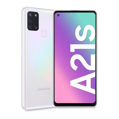 """Samsung Galaxy A21s SM-A217F/DSN 16,5 cm (6.5"""") Doppia SIM Android 10.0 4G 3 GB 32 GB 5000 mAh Bianco"""