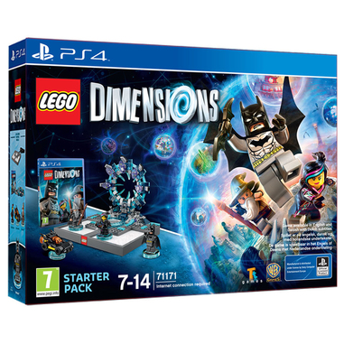 Warner Bros Lego Dimensions - Starter Pack, PS4