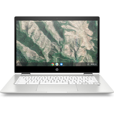 "HP Chromebook x360 14b-ca0007nl 35,6 cm (14"") 1920 x 1080 Pixel Touch screen Intel® Celeron® 4 GB LPDDR4-SDRAM 64 GB eMMC Wi-Fi 5 (802.11ac) Chrome OS Bianco"