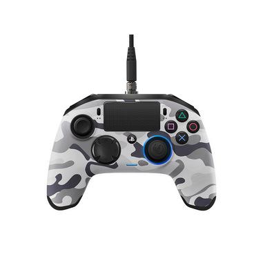 NACON PS4OFPADREVCAMOGREY periferica di gioco Gamepad PlayStation 4 Analogico/Digitale USB 3.2 Gen 1 (3.1 Gen 1) Mimetico, Grigio