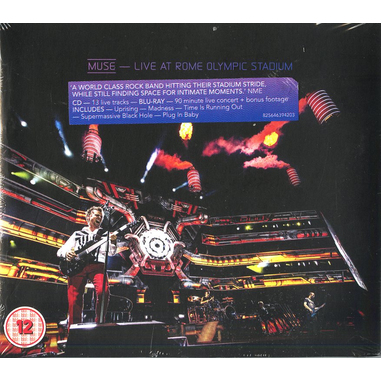 Muse - Live at Rome Olympic Stadium, CD+Blu-ray