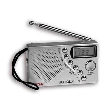 Audiola RTB-2039D/S Portatile Digitale Argento radio