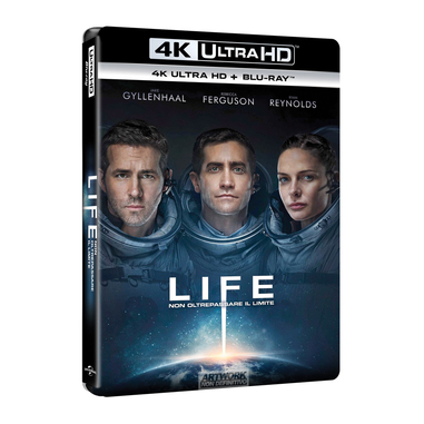 Life, 4K Ultra HD + Blu-Ray (Blu-ray) 2D ITA