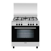 glem a855ei libera installazione 95l a nero acciaio inossidabile cucina