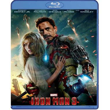 Iron Man 3 (2013), Blu-Ray