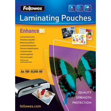 Fellowes Glossy Pouches A3 25 pcs. 80mµ