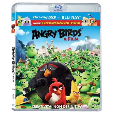 Angry birds: il film - 3D e 2D (Blu-ray)