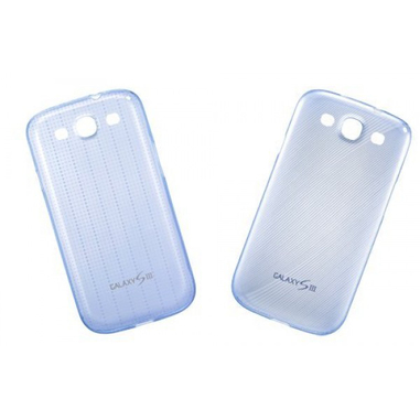 Samsung EFC-1G6S Cover case Blu, Trasparente