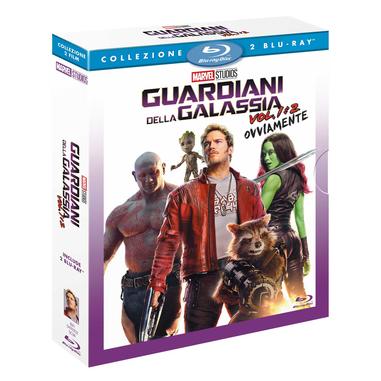 Guardiani della Galassia, Vol. 1 -2, Blu-Ray Blu-ray 2D ITA