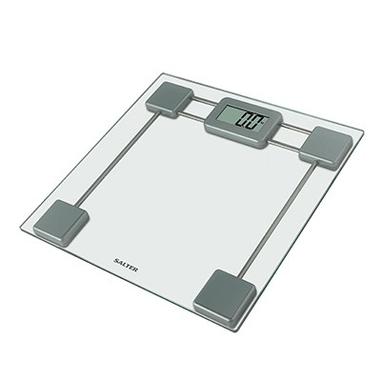 Salter 9082 SV3R Bilancia pesapersone elettronica Grigio, Trasparente bilance pesapersone