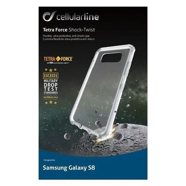 Cellularline Tetra Force Shock-Twist (Galaxy S8)