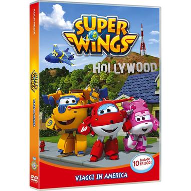 Super Wings - Viaggi In America Vol 3 DVD