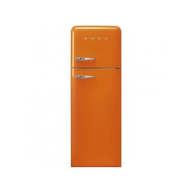Smeg FAB30ROR3 frigorifero con congelatore Libera installazione Arancione 294 L A+++