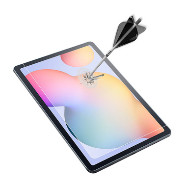 Cellularline Impact Glass - Galaxy Tab S6 Lite Vetro temperato sottile e resistente Trasparente