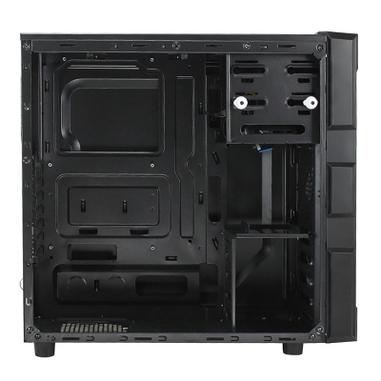 Antec GX200 Window Midi-Tower 0-761345-15202-0 Blu vane portacomputer